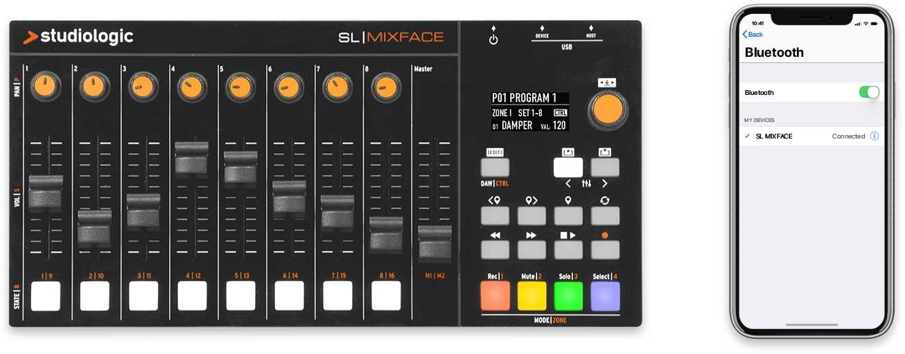 SL Mixface bluetooth connection