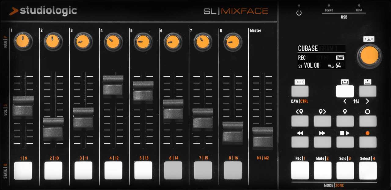 SL Mixface DAW Mode